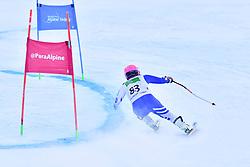 Women's Giant Slalom, HONDO Ammi, LW6/8-2, JPN at the WPAS_2019 Alpine Skiing World Championships, Kranjska Gora, Slovenia