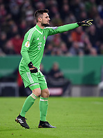 Fussball  DFB Pokal  Achtelfinale  2017/2018   FC Bayern Muenchen - Borussia Dortmund        20.12.2017 Torwart Sven Ulreich (FC Bayern Muenchen)
