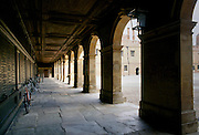 The Cloisters at Eton College public school in Berkshire, England, UK