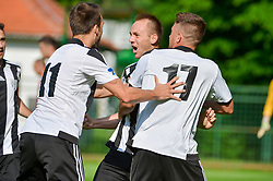 Matic Marusko of ND Mura celebrates during football match between ND Mura and ND Tabor Sezana in Round #28 of 2.SNL 2017/18 on May 13, 2018 in Mestni stadion Fazanerija , Murska Sobota , Slovenia. Photo by Mario Horvat / Sportida