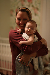 LOUISVILLE, Ky., -- Gemma gets a bath and meets Cassie Temple and Blake her 8 month old, Wednesday, Nov. 29, 2017 at the BIrchwood BnB in LOUISVILLE.