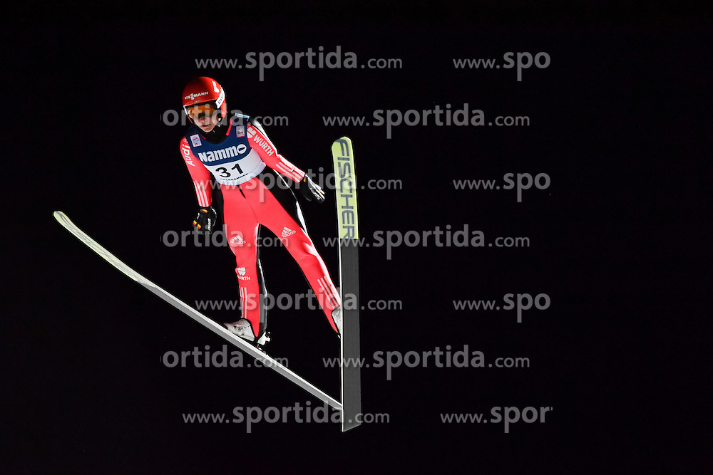 02.12.2016, Lillehammer, NOR, FIS Weltcup Ski Sprung, Lillehammer, Damen, im Bild Carina Vogt (GER) // Carina Vogt of Germany during Womens Skijumping Competition of FIS Skijumping World Cup. Lillehammer, Norway on 2016/12/02. EXPA Pictures &copy; 2016, PhotoCredit: EXPA/ Nisse<br /> <br /> *****ATTENTION - OUT of SWE*****