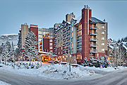The Hilton Whistler Hotel. Photo By: Greg Eymundson / Insight-Photography.com