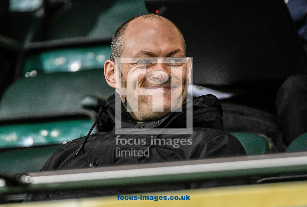 Manager Alex Neil at Norwich City U23 and Dinamo Zagreb U23 during the Premier League International Cup Quarter-Final match at Carrow Road, Norwich<br /> Picture by Matthew Usher/Focus Images Ltd +44 7902 242054<br /> 27/02/2017