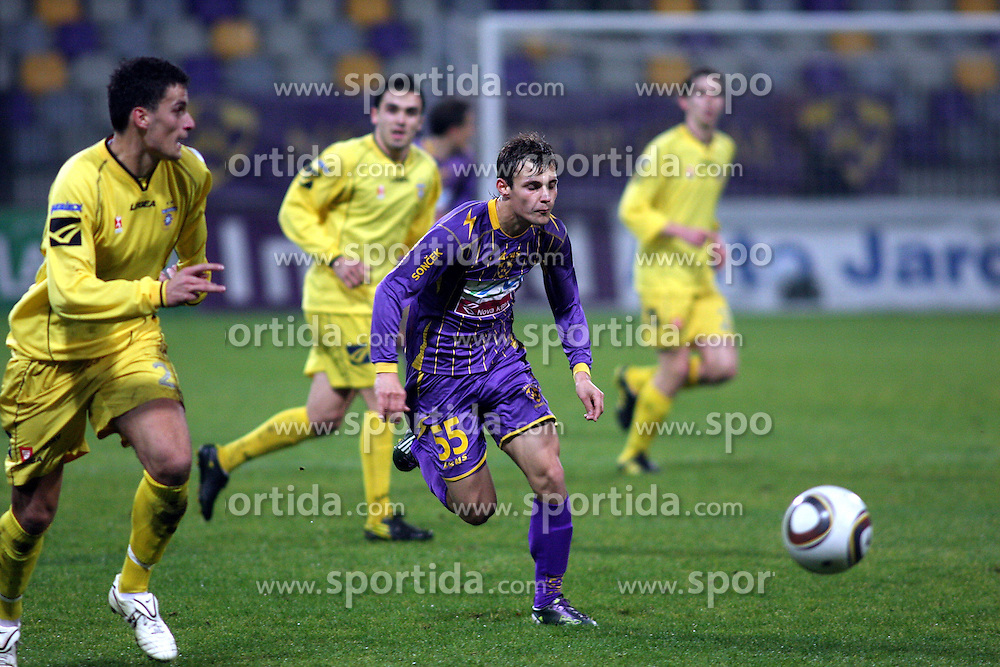 Rajko Rep of Maribor during the football match between NK Maribor and NK Domzale, played in the 18th Round of Prva liga football league 2010 - 2011, on November 20, 2010, at Stadium Ljudski vrt, Maribor, Slovenia.  (Photo by Marjan Kelner / Sportida)