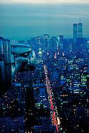 New York. Chrysler Building, Eagle gargoyle, New York City, designed by William Van Alen in 1928