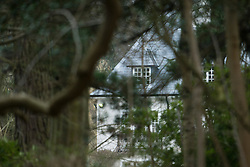 © London News Pictures. 24/03/2013 . Ascot, UK.  The home of Russian Oligarch Boris Berezovsky. Boris Berezovsky was found dead at him home yesterday (23/03/2013). Police are currently treating his death as unexplained.  Photo credit : Ben Cawthra/LNP