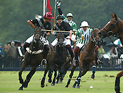 BLACK BEARS V DUBAI.QUEENS CUP GUARDS POLO CLUB SMITHS LAWN WINDSOR.12.6.05.PIX STEVE BUTLER