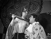 14/12/1954<br /> 12/14/1954<br /> 14 December 1954<br /> Abbey Theatre scenes from Christmas Pantomime (Sean Mooney)