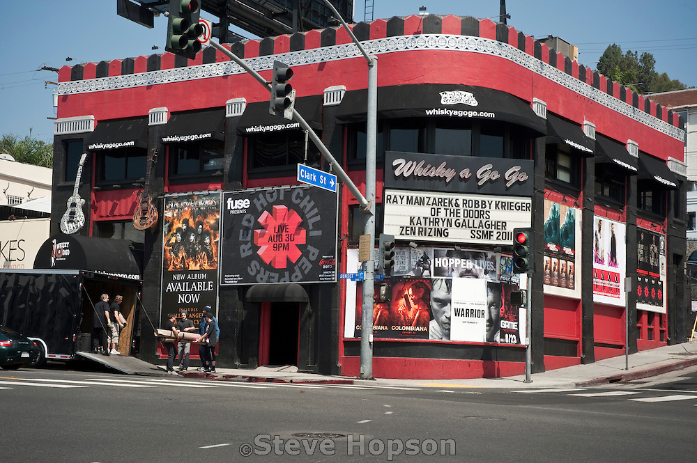 Whisky A Go Go during the Sunset Strip Music Festival in Los Angeles, California, August 19, 2011.