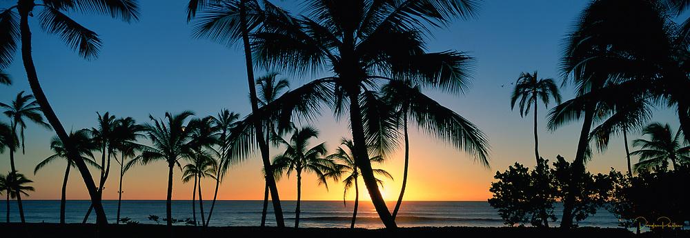 Sunset, Ko'olina, Oahu, Hawaii, USA
