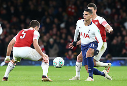 December 19, 2018 - London, England, United Kingdom - London, UK, 19 December, 2018.Tottenham Hotspur's Erik Lamela.during Carabao Cup Quarter - Final between Arsenal and Tottenham Hotspur  at Emirates stadium , London, England on 19 Dec 2018. (Credit Image: © Action Foto Sport/NurPhoto via ZUMA Press)