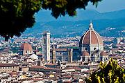 The dome of the Basilica di Santa Maria del Fiore, commonly known as Duomo di Firenze. (Sam Lucero photo)