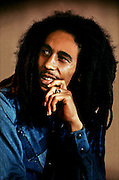 Portrait of Bob Marley at Londons Keskidee Centre - Legend cover