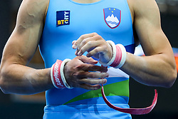 Saso Bertoncelj hands at Pommel Horse during Qualifications of Artistic Gymnastics FIG World Challenge Koper 2018, on May 31, 2017 in Arena Bonifika, Koper, Slovenia. Photo by Matic Klansek Velej/ Sportida