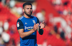 Harlee Dean of Birmingham City applauds the travelling fans at the final whistle - Mandatory by-line: Arron Gent/JMP - 14/09/2019 - FOOTBALL - The Valley - Charlton, London, England - Charlton Athletic v Birmingham City - Sky Bet Championship