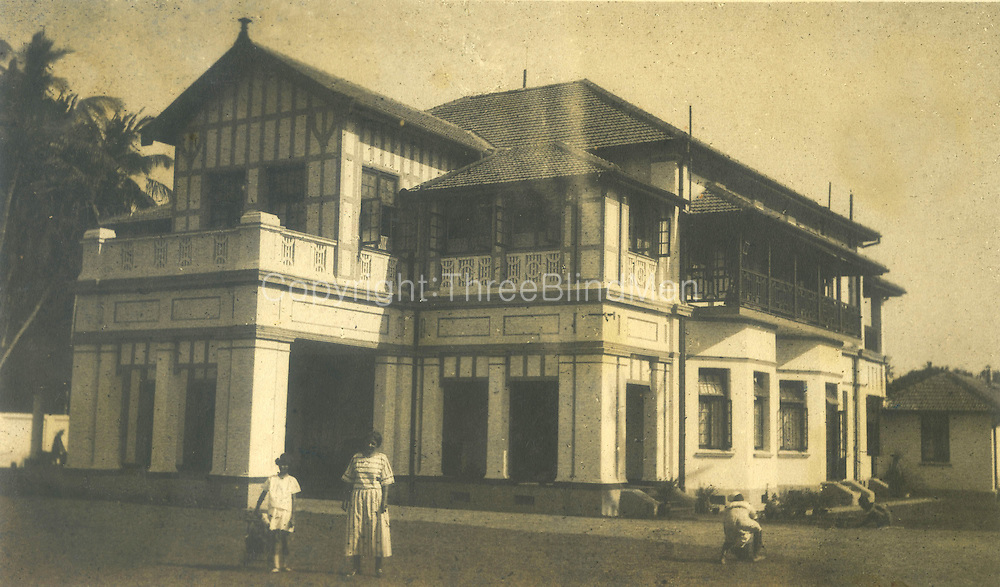 Wycherly, Spittel's home in Colombo.