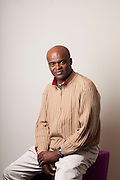 Athlete Kris Akabusi, portrait for  The Independent Magazine, My Secret Life