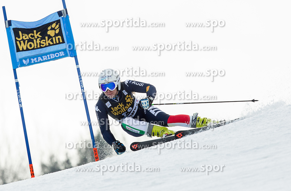 Francesca Marsaglia (ITA) competes during 7th Ladies' Giant slalom at 52nd Golden Fox - Maribor of Audi FIS Ski World Cup 2015/16, on January 30, 2016 in Pohorje, Maribor, Slovenia. Photo by Vid Ponikvar / Sportida