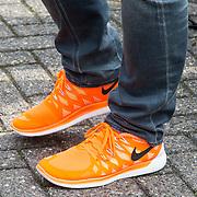 NLD/Breda/20140426 - Radio 538 Koningsdag, oranje schoenen van Armin van Buuren