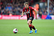 Ryan Fraser (24) of AFC Bournemouth on the attack during the Premier League match between Bournemouth and Norwich City at the Vitality Stadium, Bournemouth, England on 19 October 2019.