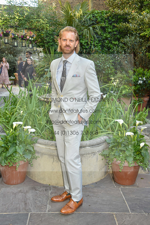 Alistair Guy at The Ivy Chelsea Garden Summer Party ,The Ivy Chelsea Garden, King's Road, London, England. 14 May 2019. <br /> <br /> ***For fees please contact us prior to publication***