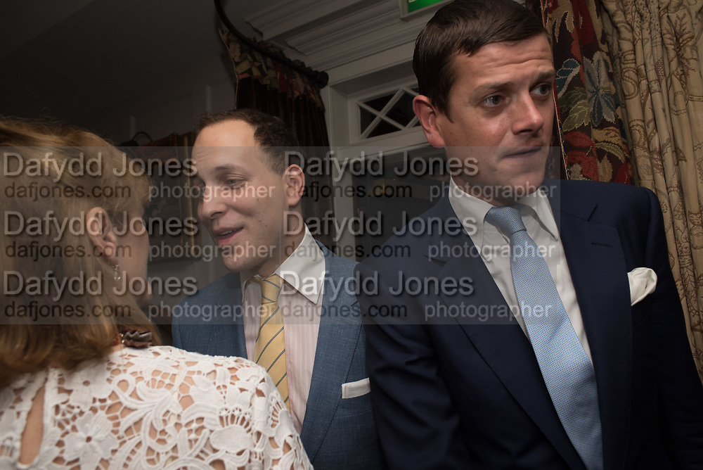 LADY VIRGINA FRASER ( VIRGINIA JOHNSON ) LORD FREDERICK WINDSOR; LORD ALEXANDER SPENCER-CHURCHILL, Robin Birley and Lady Annabel Goldsmith Summer Party. Hertford St. London. 5 July 2017