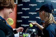 Official draw during the Longines Future Tennis Aces 2014 at Tuan Tennis Club in Jozefoslaw near Warsaw on April 11, 2014.<br /> <br /> Poland, Warsaw, April 11, 2014<br /> <br /> Picture also available in RAW (NEF) or TIFF format on special request.<br /> <br /> For editorial use only. Any commercial or promotional use requires permission.<br /> <br /> Mandatory credit:<br /> Photo by © Adam Nurkiewicz / Mediasport