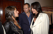 Tracey Emin, Paul and Trisha Simenon, Stella McCartney shop eopening, Bruton St. London. 15 May 2003. © Copyright Photograph by Dafydd Jones 66 Stockwell Park Rd. London SW9 0DA Tel 020 7733 0108 www.dafjones.com