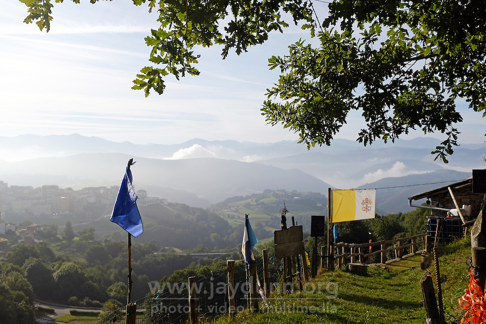 "Photographs from the 310-kilometer Camino Primitivo, or ""Original Way,"" the first pilgrimage route of its kind in Spain. Walked in late-September, 2016, the route begins in Oviedo, crossing the rugged Cantabrian mountains of Asturias on its way to Santiago de Compostela in Galicia. The Primitivo route was first established in the 9th century, when much of Spain was under Moorish control."
