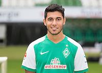 German Soccer Bundesliga 2015/16 - Photocall of Werder Bremen on 10 July 2015 in Bremen, Germany: Oezkan Yildirim