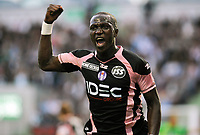 Fotball<br /> Frankrike<br /> Foto: DPPI/Digitalsport<br /> NORWAY ONLY<br /> <br /> FOOTBALL - FRENCH CHAMPIONSHIP 2008/2009 - L1 - AS SAINT ETIENNE v TOULOUSE FC - 16/05/2009 - JOY MOUSSA SISSOKO (TFC) AFTER HIS GOAL
