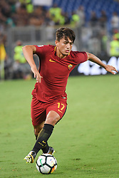 August 26, 2017 - Rome, Italy - Cengiz Under during the Italian Serie A football match between A.S. Roma and F.C. Inter at the Olympic Stadium in Rome, on august 26, 2017. (Credit Image: © Silvia Lore/NurPhoto via ZUMA Press)