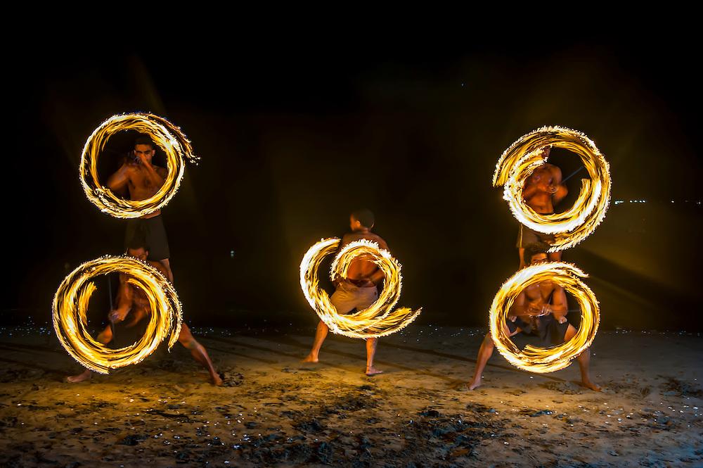 Fireadance, Viti Levu, Fiji, South Pacific