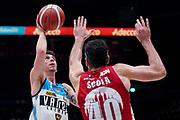 RuzzierMichele <br /> A X Armani Exchange Olimpia Milano - Vanoli Cremona <br /> Basket Serie A LBA 2019/2020<br /> Milano 09 February 2020<br /> Foto Mattia Ozbot / Ciamillo-Castoria