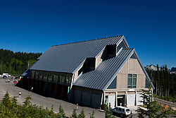 Exterior of Henry M. Jackson Memorial Visitors Center, Paradise, Mt. Rainier National Park, Washington, United States of America
