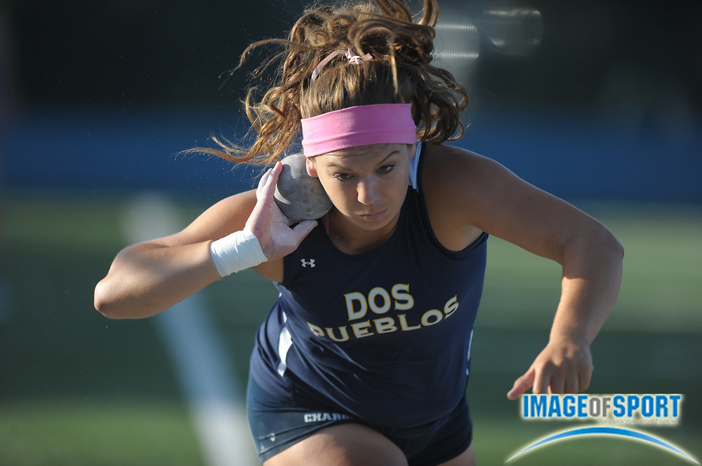 May 25, 2012; Norwalk, CA, USA; in the 2012 CIF Southern Section Masters Meet at Cerritos College.