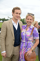 FRANCESCO CIARDI and HANNELI RUPERT and at the 2013 Cartier Queens Cup Polo at Guards Polo Club, Berkshire on 16th June 2013.