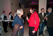 LYNN BARBER; JANET STREET-PORTER, Watercolour, Tate Britain. London. 14 February 2011. -DO NOT ARCHIVE-© Copyright Photograph by Dafydd Jones. 248 Clapham Rd. London SW9 0PZ. Tel 0207 820 0771. www.dafjones.com.