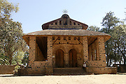 Africa, Ethiopia, Gondar The Royal Enclosure Church of Debre Birhan Selassie