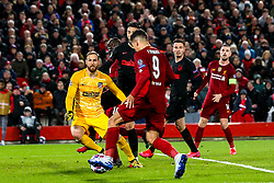 Roberto Firmino of Liverpool misses a chance to score - Mandatory by-line: Robbie Stephenson/JMP - 11/03/2020 - FOOTBALL - Anfield - Liverpool, England - Liverpool v Atletico Madrid - UEFA Champions League Round of 16, 2nd Leg