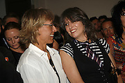 Martina Navatilova and Chrissie Hynde, PETA's Humanitarian Awards, Stella McCartney, Bruton Street, London, W1. 28 June 2006. ONE TIME USE ONLY - DO NOT ARCHIVE  © Copyright Photograph by Dafydd Jones 66 Stockwell Park Rd. London SW9 0DA Tel 020 7733 0108 www.dafjones.com