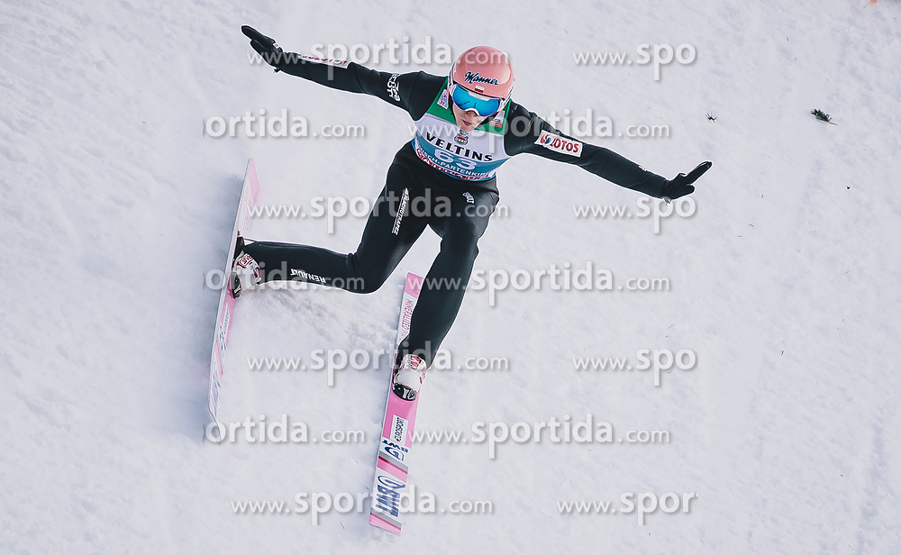 31.12.2019, Olympiaschanze, Garmisch Partenkirchen, GER, FIS Weltcup Skisprung, Vierschanzentournee, Garmisch Partenkirchen, Qualifikation, im Bild Dawid Kubacki (POL) // Dawid Kubacki of Poland during his qualification Jump for the Four Hills Tournament of FIS Ski Jumping World Cup at the Olympiaschanze in Garmisch Partenkirchen, Germany on 2019/12/31. EXPA Pictures © 2019, PhotoCredit: EXPA/ JFK