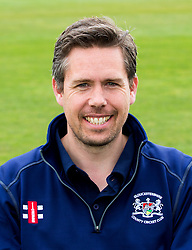 High Performance Analysis Pace Bowling Coach for Gloucestershire CCC Mark Thorburn poses for headshot - Mandatory by-line: Robbie Stephenson/JMP - 04/04/2016 - CRICKET - Bristol County Ground - Bristol, United Kingdom - Gloucestershire  - Gloucestershire Media Day