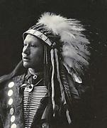 Nastive American Indian, John Hollow Horn Bear, Sioux, 1898.