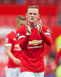 16-08-2014 ENG: Premier League, Manchester United vs Swansea City, Manchester<br /> Manchester United's captain Wayne Rooney <br /> <br /> ***NETHERLANDS ONLY***