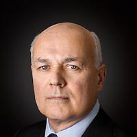 Iain Duncan-Smith MP Portrait Sitting