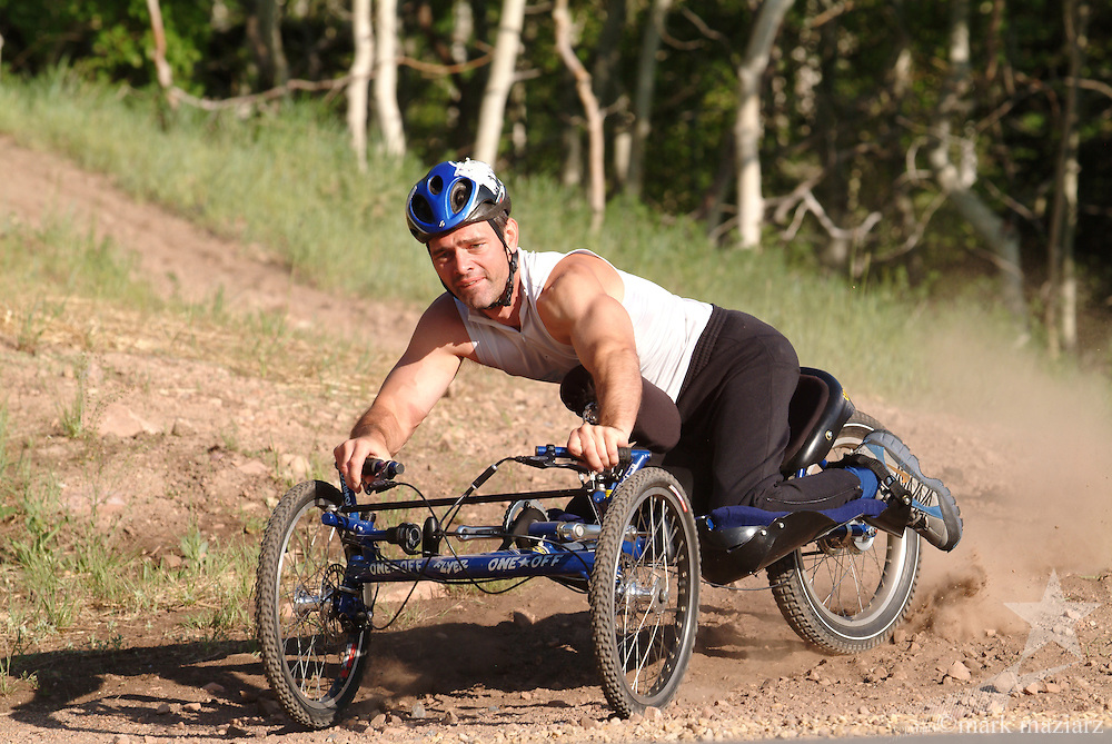 Chris Waddell on disabled adapted mountain bike