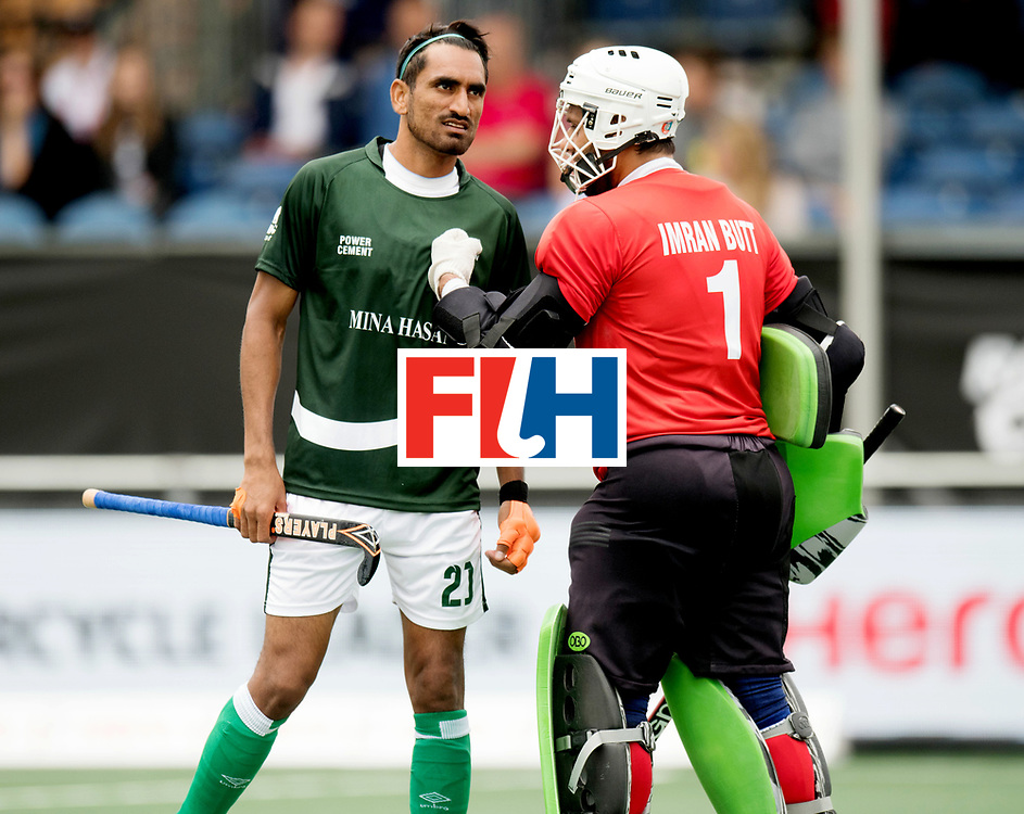 BREDA - Rabobank Hockey Champions Trophy<br /> Australia - Pakistan<br /> Photo: ABBAS Tasawar and Imran Butt.<br /> COPYRIGHT WORLDSPORTPICS FRANK UIJLENBROEK