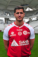 Anthony Weber - 21.10.2014 - Photo officielle Reims - Ligue 1 2014/2015<br /> Photo : Philippe Le Brech / Icon Sport